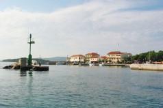 Insel Pasman Kroatien Hafen