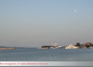 Kukljica Hafen
