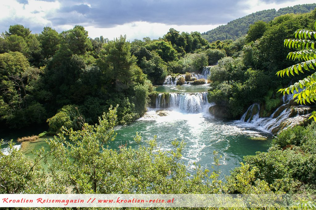 Ausflugsziel Krka Wasserfälle
