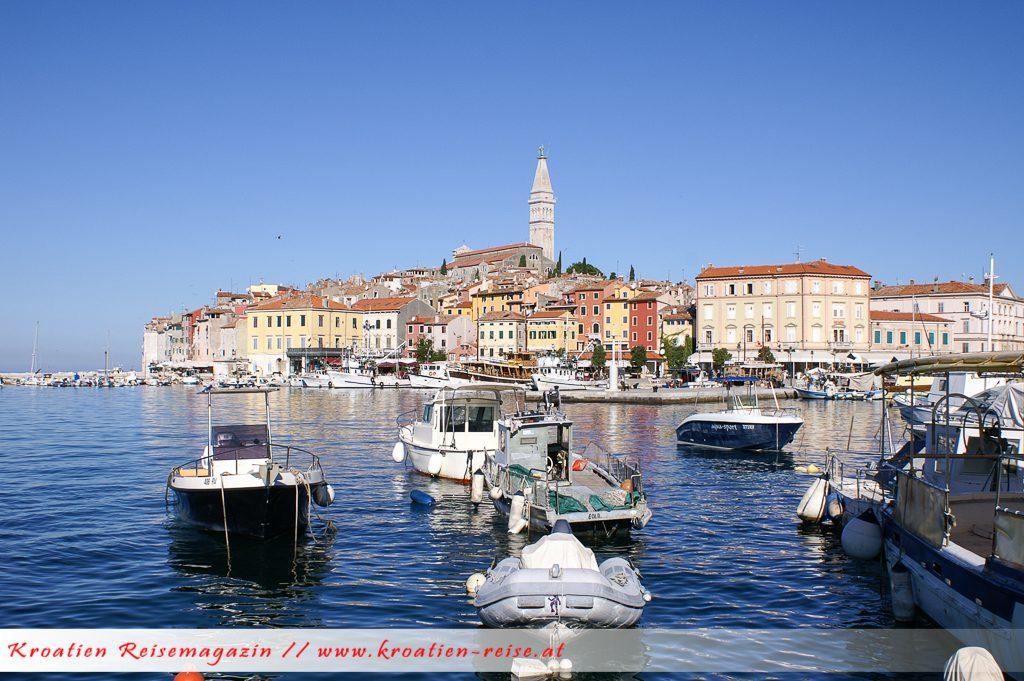 Rovinje Istrien Urlaubsregion Kroatien