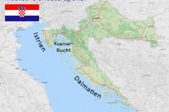 Urlaubsregionen Kroatien- Istrien Kvarner-Bucht Dalmatien