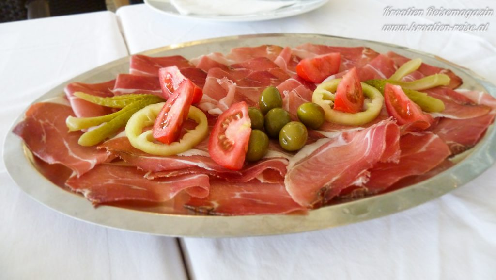 prsut rohschinken kroatien essen