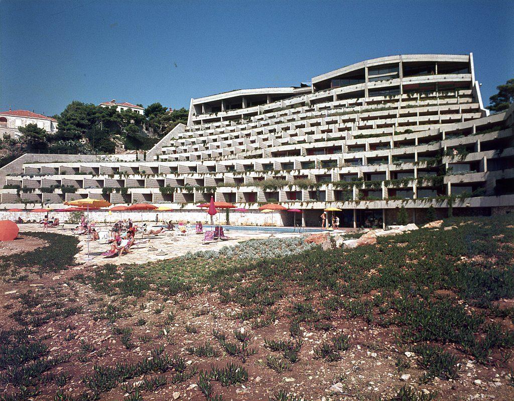 Hotel Libertas in Dubrovnik, Architekten: Andrija Čičin-Šain, Žarko Vincek 1974 © ccn-images Zagreb