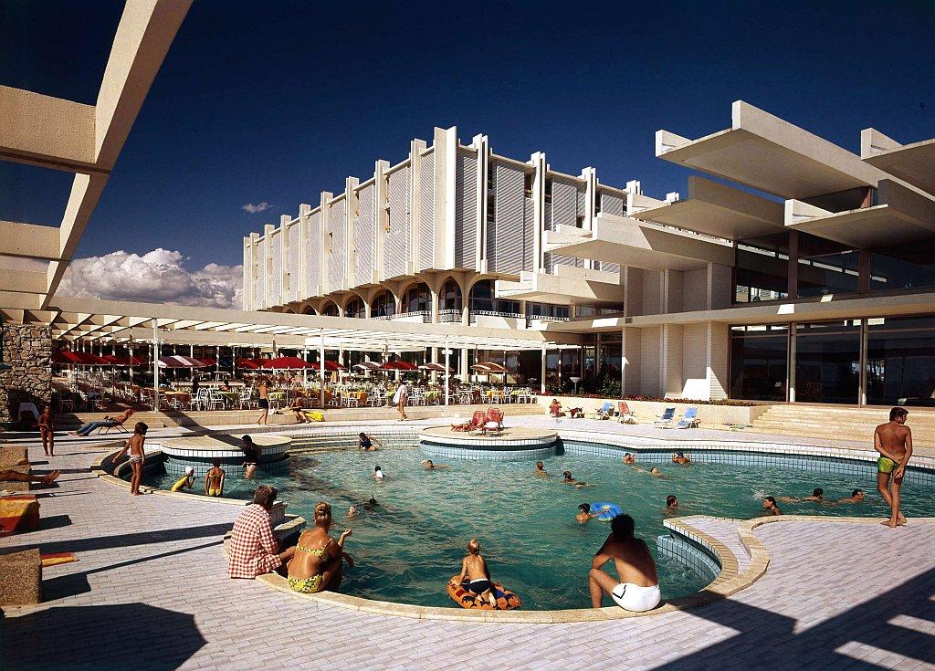 Verlassenes Resort Hotel