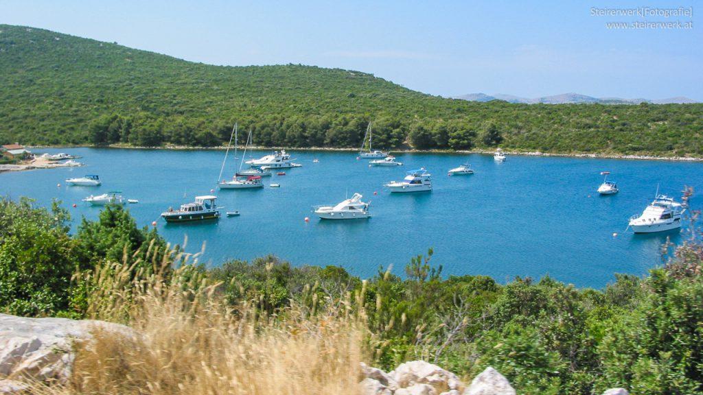 Boote Bucht Kroatien