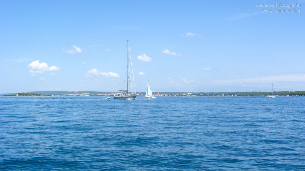 Segelgebiete Kroatien