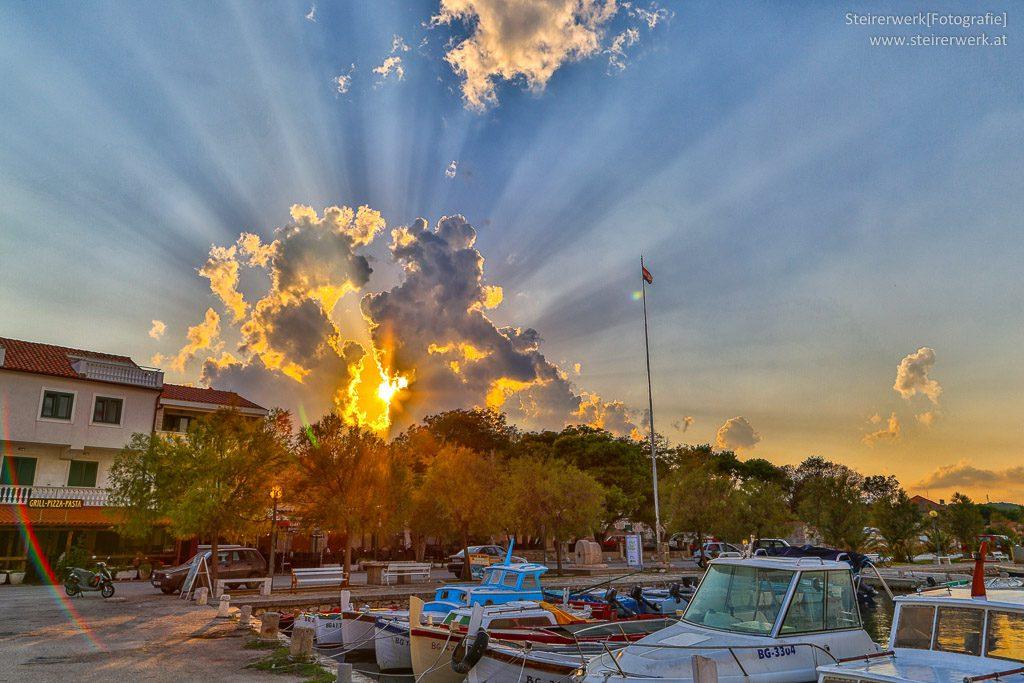 Kroatien Wolkenstimmung