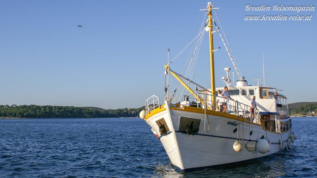 Rovinj Ausflug mit Schiff