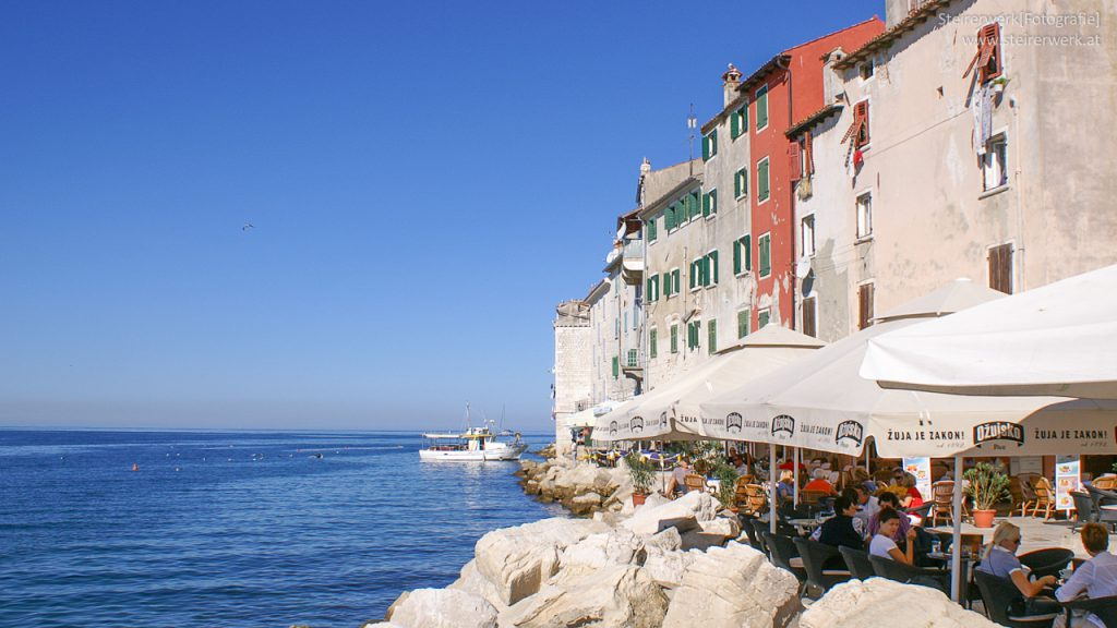 Bar in Rovinj am Meer