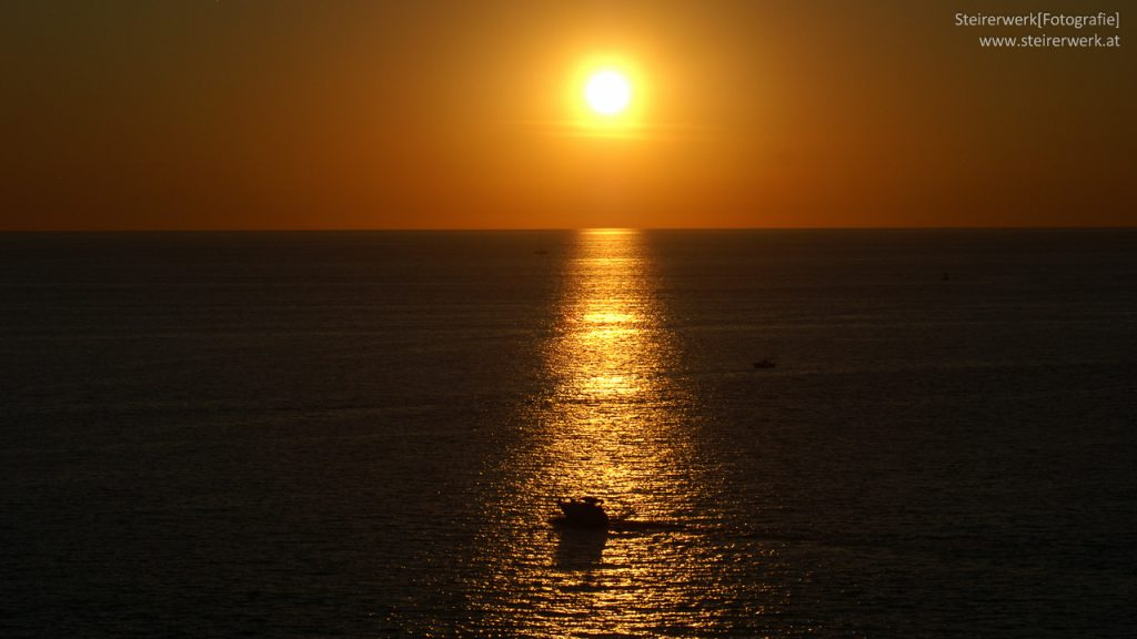 Rovinj Sonnenuntergang Meer
