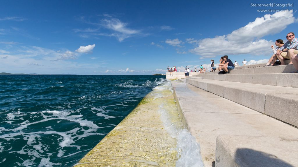 Meeresorgel Sehenswürdigkeit Zadar