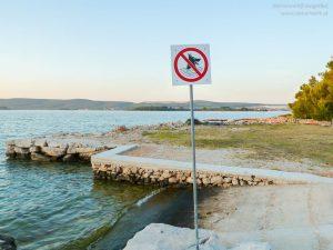 Badeverbot für Hund in Kroatien