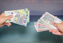 Geld wechseln Kroatien Euro Kuna