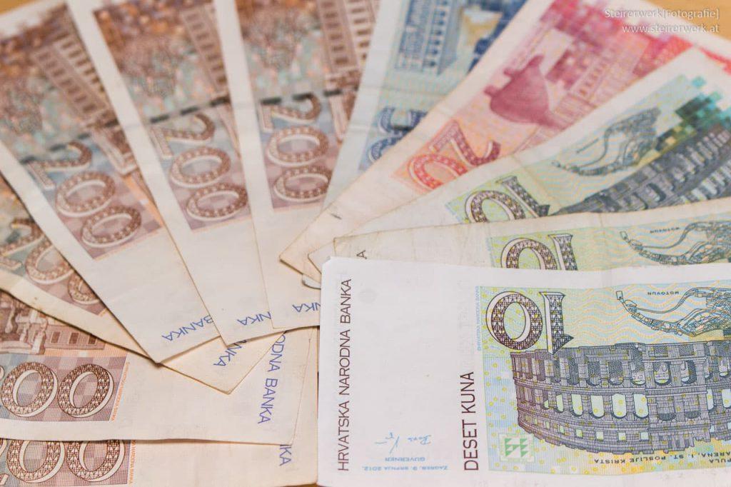 Kroatische Währung Kuna