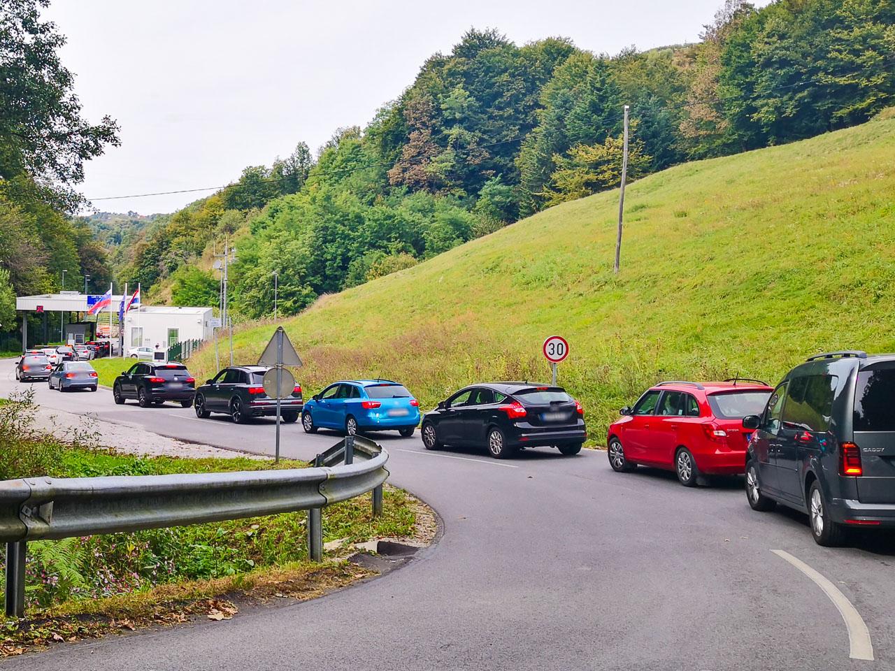 österreich Grenze Kroatien