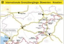 Internationale Grenzübergänge Slowenien Kroatien