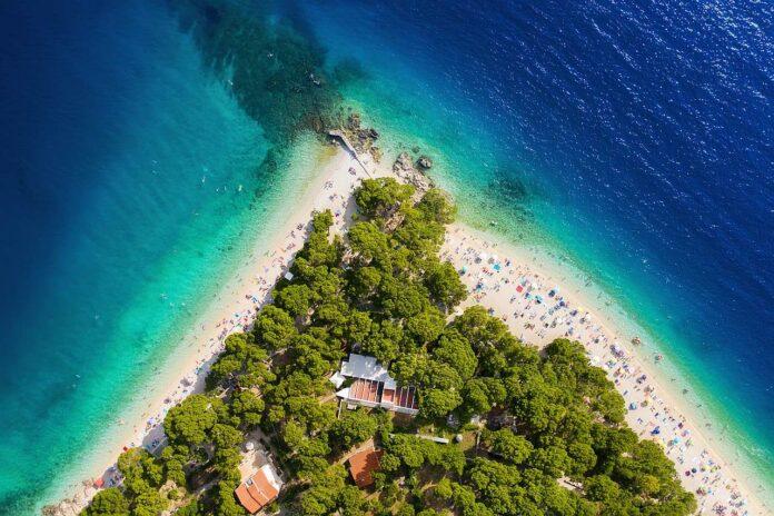 Kroatien Strand Blaue Flagge