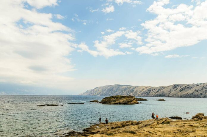 Insel Rab Strand